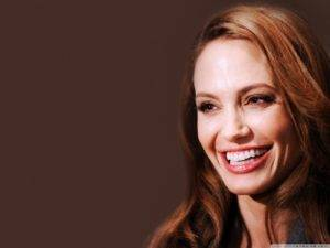 ANGELINA JOLIE Smile In The World