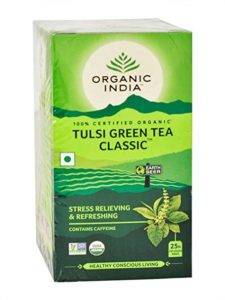 Organic India Green Tea Classic Brand
