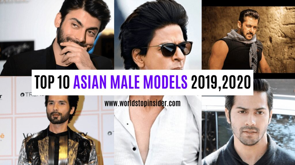 Models asian top male Top 10