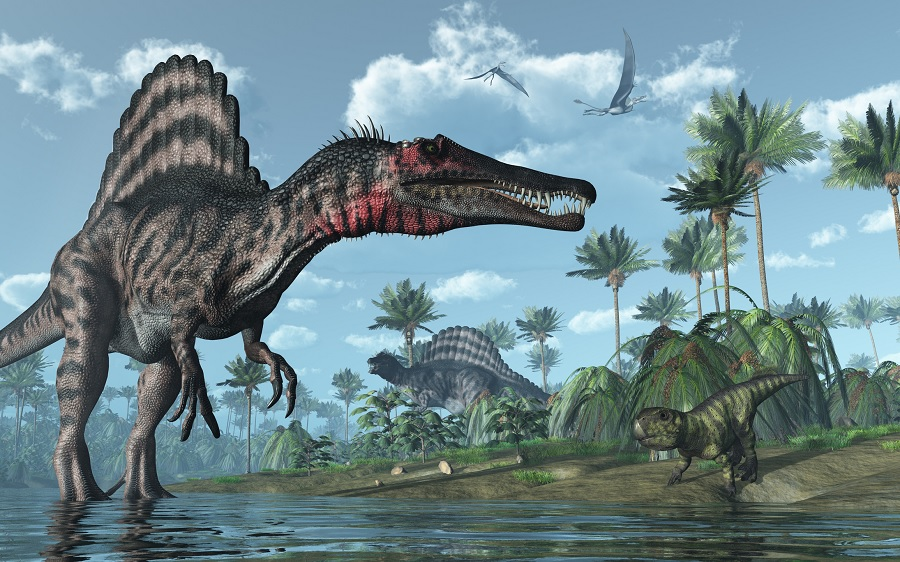 SPINOSAURUS Dangerous Dinosaurs Of All Time