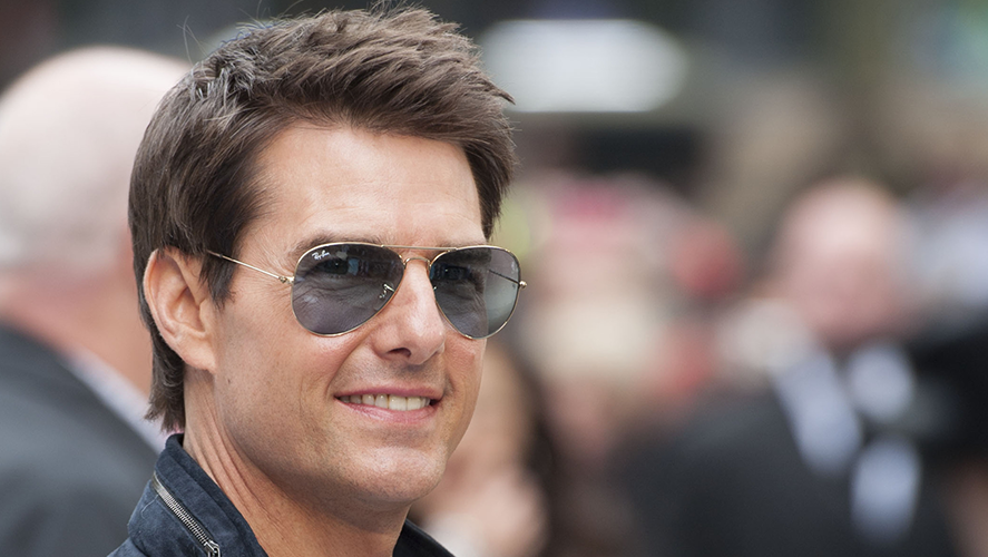 TOM CRUISE Beautiful Smile