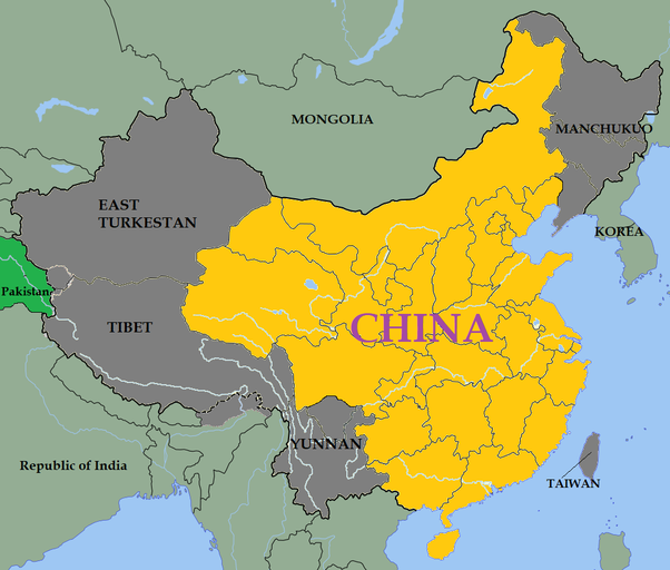 CHINA Largest Countries In The World