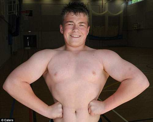 10 Strongest Kids In The World