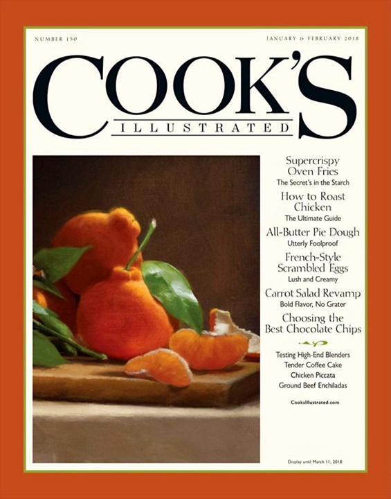 Cook's Illustrated Famous Magazine