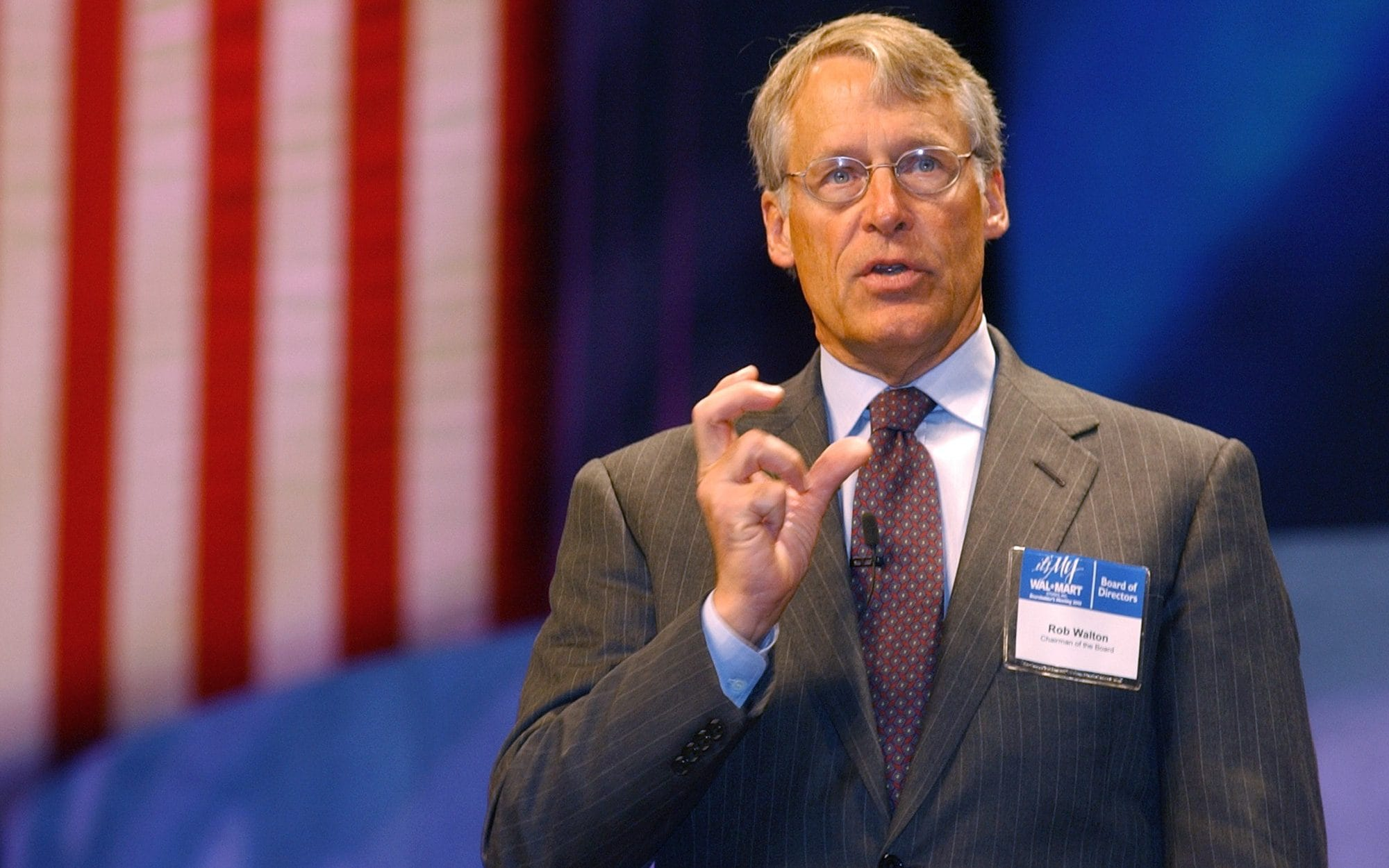 S. ROBSON WALTON Richest People In The World