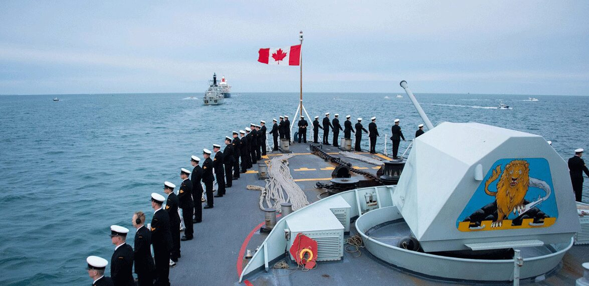 Canada Largest Navy In the world