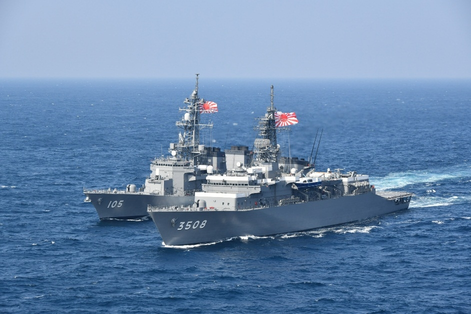 Japan Largest Navy In the world