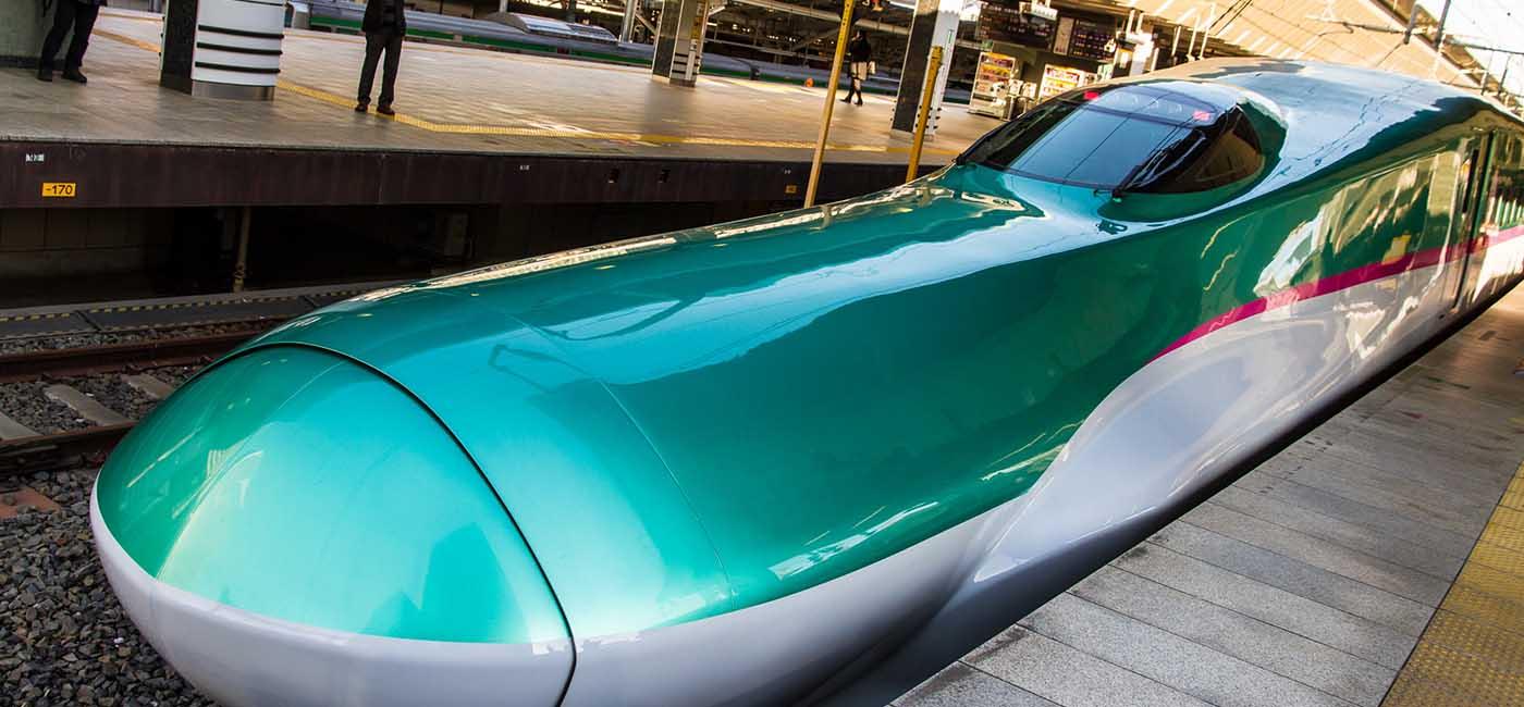 Shinkansen E5 and H5 Series Train Fastest Train in The World