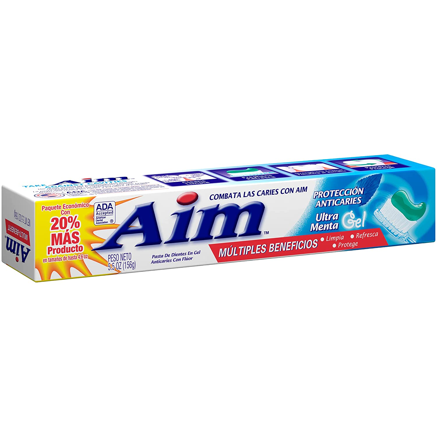AIM BEST TOOTHPASTE BRANDS IN THE WORLD