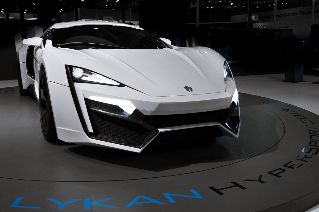 Lykan Hypersport $3.4 Million Most Expensive Cars In The World