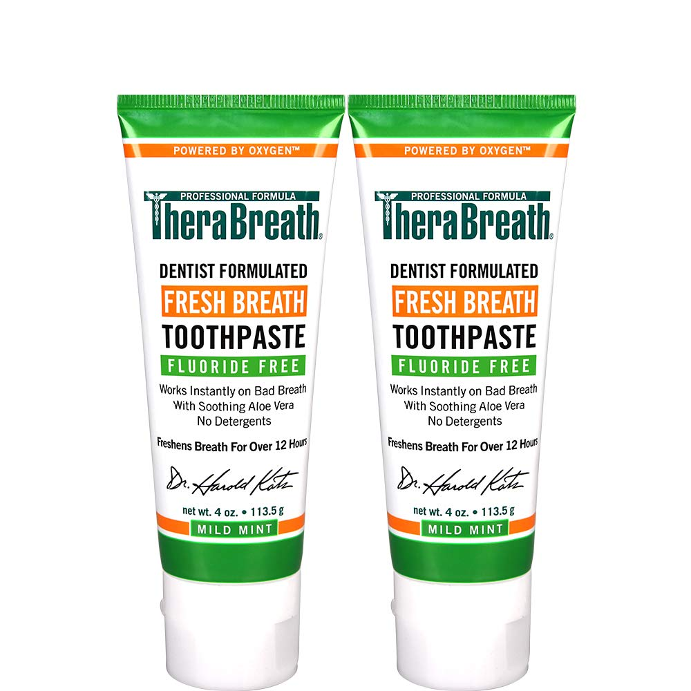 THERA BREATH BEST TOOTHPASTE BRANDS IN THE WORLD