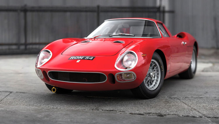 The Ferrari 250 LM of 1964 ($14.3 million) Most Expensive Cars In The World